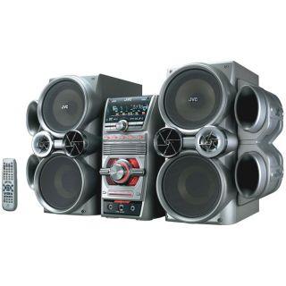 JVC HXD7 500 watt 5 disc DVD Mini Stereo System