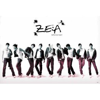 ZEA Korean Boy Band Repackage Album Poster 4167