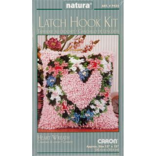 Caron Natura Heart Wreath Latch Hook Kit (12 x 12) Today $8.49 5.0 (1