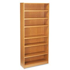 HON Heavy Duty Signature Series 7 Shelf Bookcase   Oak