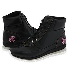 Timberland Urban Anneli Black Smooth Boots