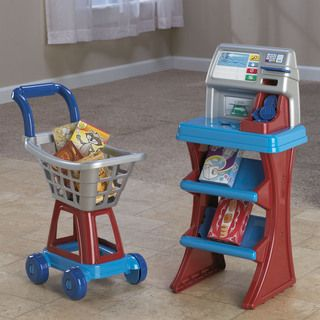 American Plastic Toys ShopN Pay Market Set