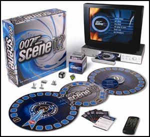 Scene it? James Bond   Kinoquiz mit DVD Spielzeug