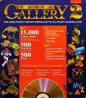 Corel Gallery 2   Die weltweit meistverkaufte Clipart Sammlung