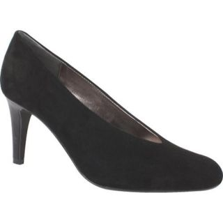 Womens J. Renee Frenzy Black Suede