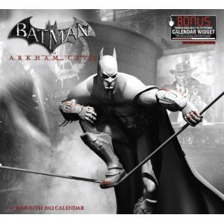 Batman Arkham City 2012 Calendar Includes Bonus Downloadable