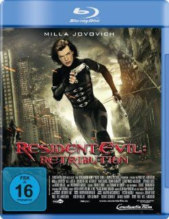 Resident Evil Retribution [Blu ray] Milla Jovovich