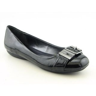 Etienne Aigner Womens Zena Black Flats & Oxfords (Size 9)