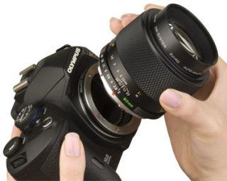 Olympus E 520 SLR Digitalkamera Unterwasser Pro Kit Kamera