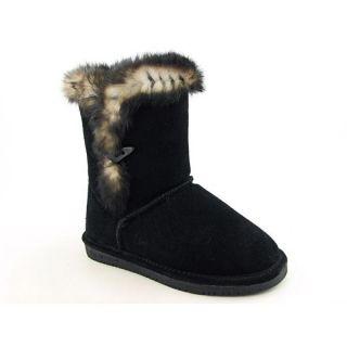 Bearpaw Womens Mackenzie Black Boots (Size 10)