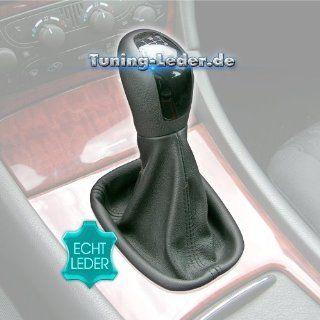 Schaltsack Schaltmanschette Mercedes C Klasse W203 Bj 00 05 Leder