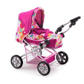 Bayer Chic 2000   557 74   Kombi Puppenwagen Piccolina Papillion pink