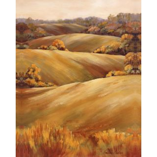 Marianne Broome Across the Fields II Gallery wrapped Canvas Art