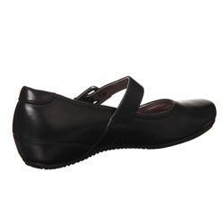 ECCO Womens Black Bouillon Mary Janes