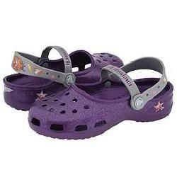 Crocs Kids Hannah Montana Mary Jane (Toddler/Youth) Grape/Silver