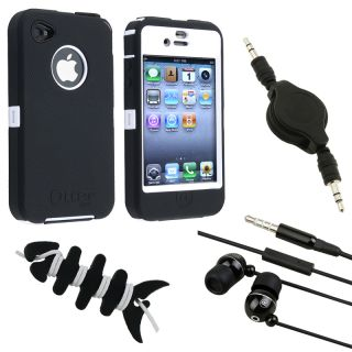 OtterBox Defender Case/ Audio Cable/ Headset/ Wrap for Apple iPhone 4S