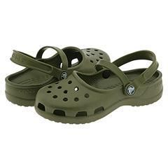 Crocs Mary Jane Army