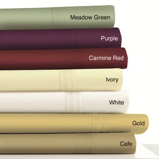Egyptian Cotton 500 Thread Count Extra Deep Pocket 6 Piece Sheet Set