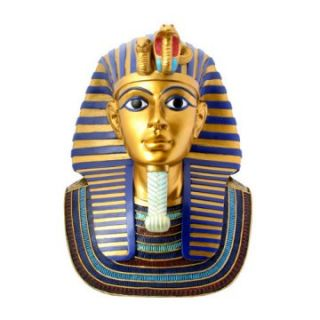 YTC Summit 12H in. Gold Mask Of King Tut   Sculptures & Figurines at