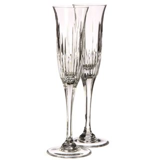Rogaska Garcia Flutes (Set of 4)
