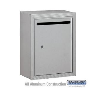 Salsbury Standard Private Access Letter Box with Personalization at