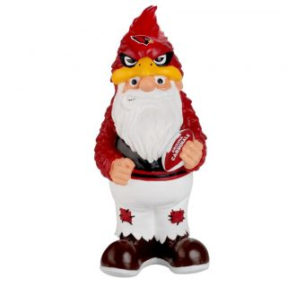 Arizona Cardinals 11 inch Thematic Garden Gnome