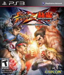 PS3   Street Fighter X Tekken   By Capcom