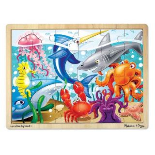 Melissa and Doug 24 Piece Jigsaw Puzzle Collection   Boys   Set of 5