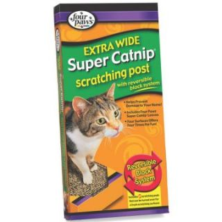 Extra Wide Catnip Scratching Post   Cat Scratching Posts