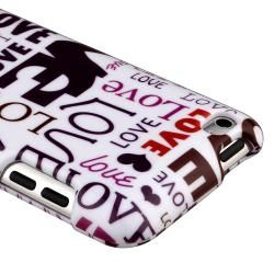 Lover Snap on Case for Apple iPod Touch Generation 4