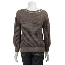 Jae Basilio Womens Eva Button down Knit Sweater