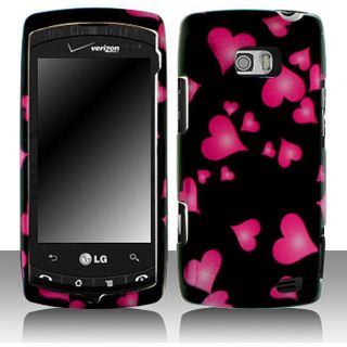 Raining Heart LG Ally VS740 Protective Case