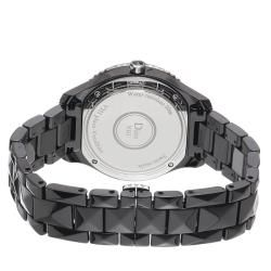 Christian Dior Womens Black Eight Black Ceramic Diamond Watch