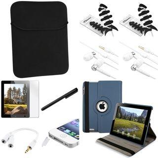 BasAcc Case/ Protector/ Stylus/ Headset/ Splitter for Apple iPad 2