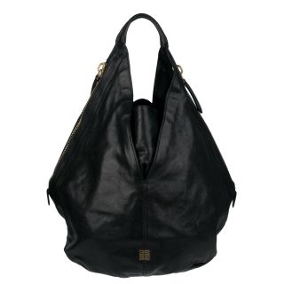 Givenchy Tinhan Black Leather Hobo Bag