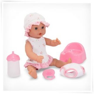 American Plastic Toys Deluxe Nursery   Baby Doll Furniture at