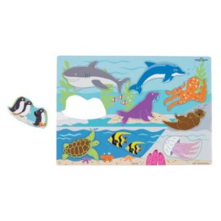 Small World Toys Animals Puzzle Pack   Rainforest Marine Safari