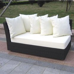 Cynthia Woven Wicker Outdoor Sectional Sofa