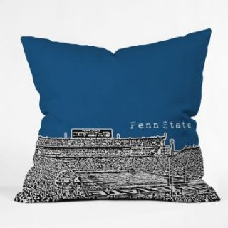 Bird Ave College Stadiums Throw Pillow   Decorative Pillows at