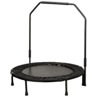 Sunny Health & Fitness 40 in. Foldable Trampoline with Bar   Fitness