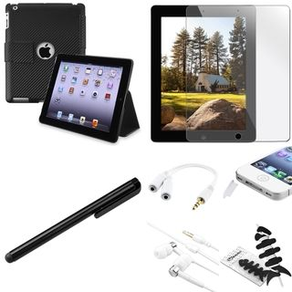 BasAcc Case/ Headset/ Protector/ Splitter/ Stylus for Apple iPad 3