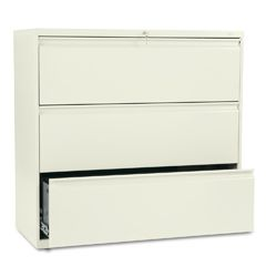 HON 800 Series 42 inch Wide 3 Drawer Lateral File Cabinet