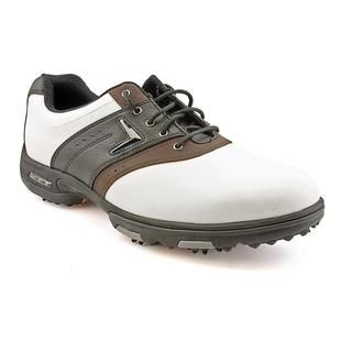 Callaway Golf Mens XTT LT Saddle Leather Athletic Shoe