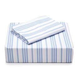 Laura Ashley Cotton Percale 300 Thread Count Sheet Set