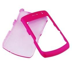 Hot Pink Rubber Coated Case for BlackBerry Curve 8330
