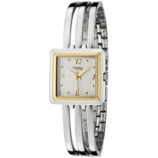 Caravelle by Bulova Womens Stainless Steel Bangle Watch