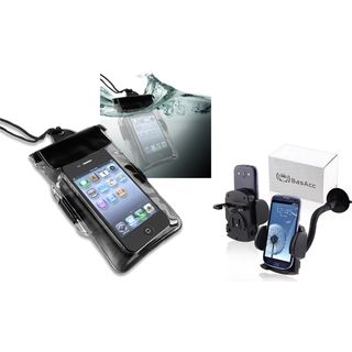 BasAcc Holder/ Waterproof Bag for Samsung Galaxy S2 i727 Exhilarate