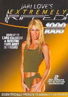 Jari Love: Get Extremely Ripped! 1000 (DVD)