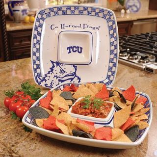 Memory Company TCU Horned Frogs Gameday Chip n Dip Tray