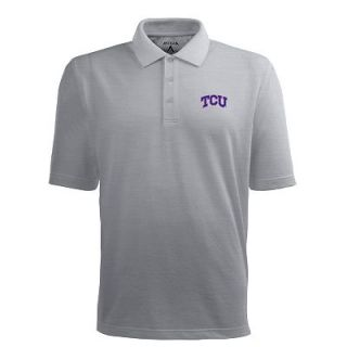 TCU Horned Frogs Pique Xtra Lite Polo   Men